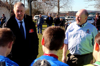 Visit by Sir Geoff Hurst to Lads Club 7/3/2015